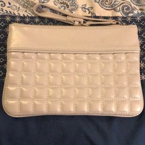 Lt Gray Express Wristlet. Barely used!